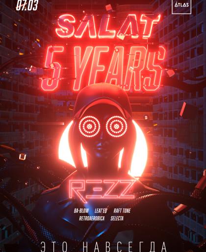 SALAT 5 YEARS
